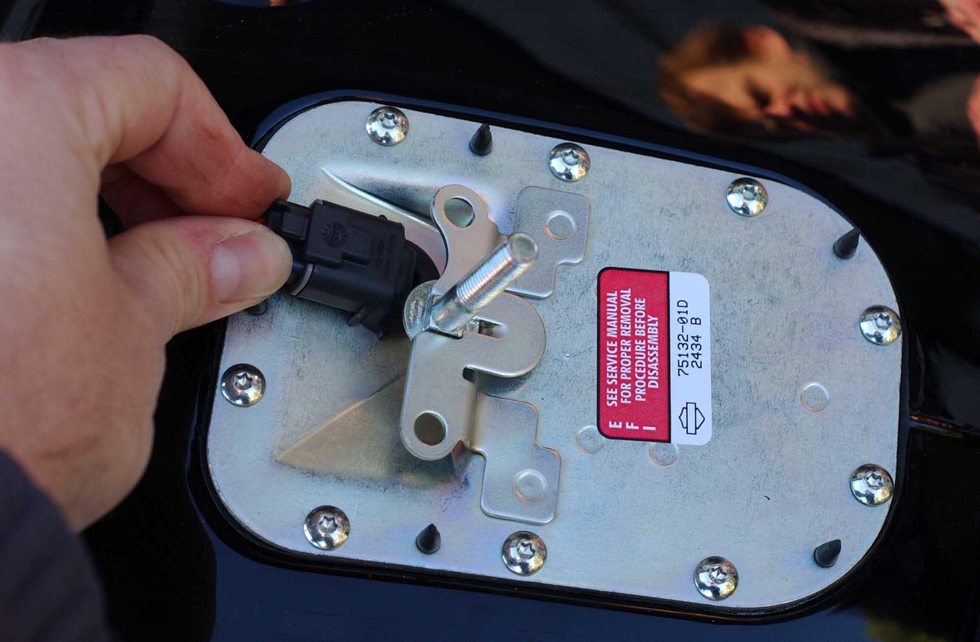 From Efi To Carburetor Upgrade Instructions Harley Davidson Sportster Fuse Box Location