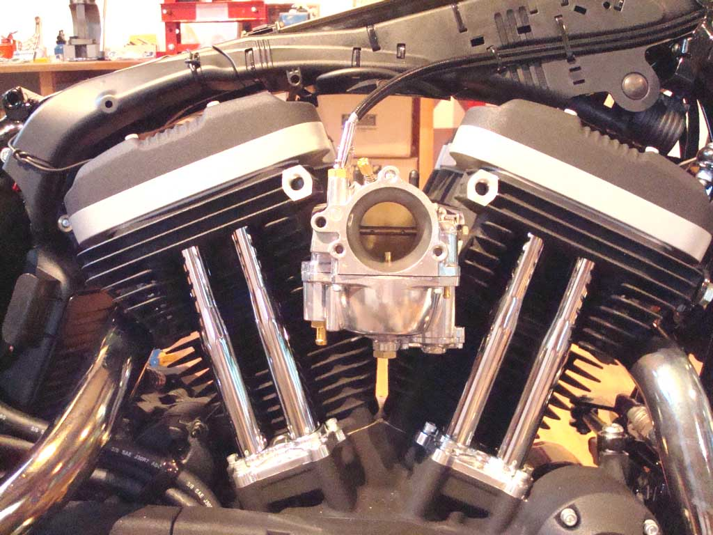 From EFI to Carburetor Conversion for Sportster® engines