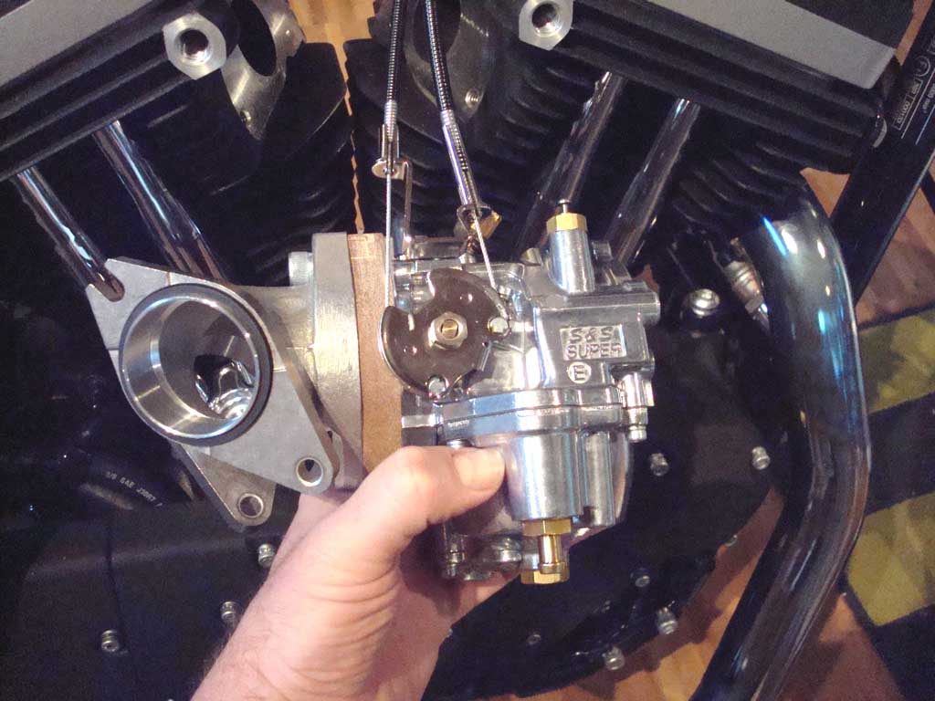 From Efi To Carburetor Conversion For Sportster Engines Harley Davidson Police Wiring Harness The Ss Super E Kit Comes Complete With Manifold And Instructions Installation Is Easy You Need 2004 Up Models